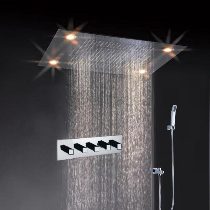 31 Large Rain Shower Set Faucet Double Waterfall Shower