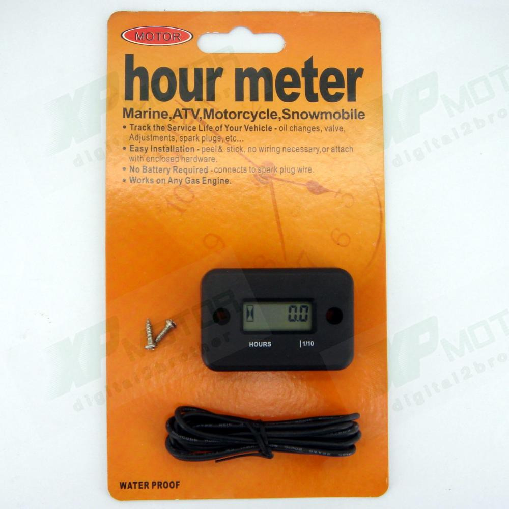 Honda Hour Meter : New lcd hour meter motorcycle marine atv honda ktm yamaha