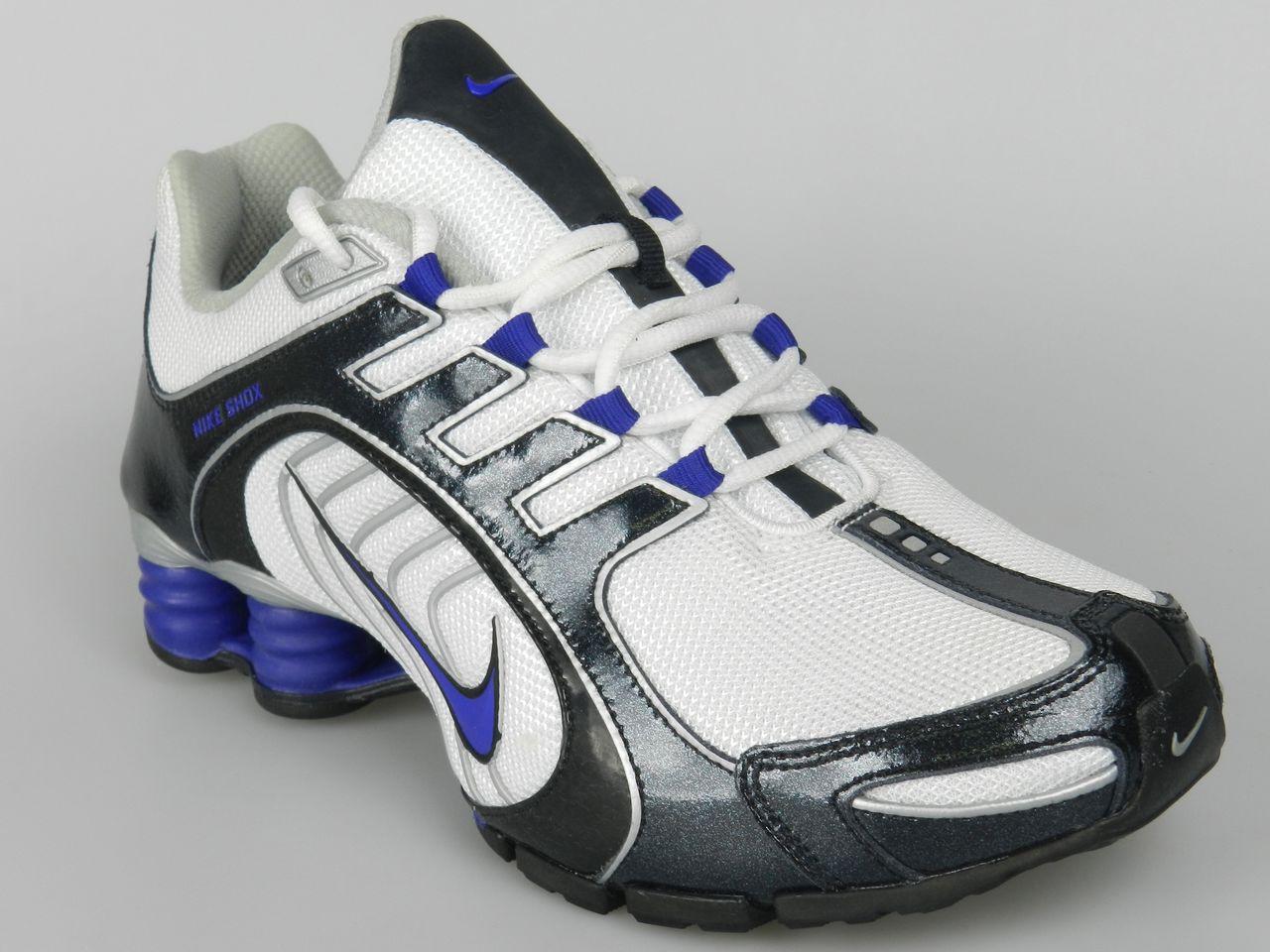 f1921e19f8e239 White Nike Shox Women Glitter Sandals Nike Shox Women 7.5