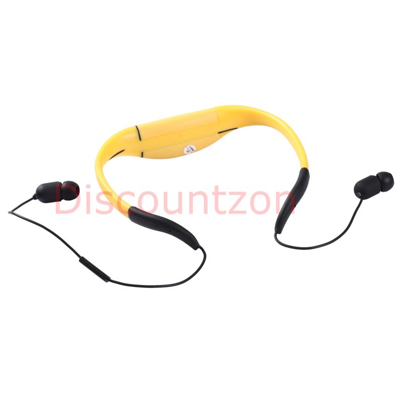 ipx8 waterproof bluetooth headset headphone earphone for swimming samsung htc. Black Bedroom Furniture Sets. Home Design Ideas