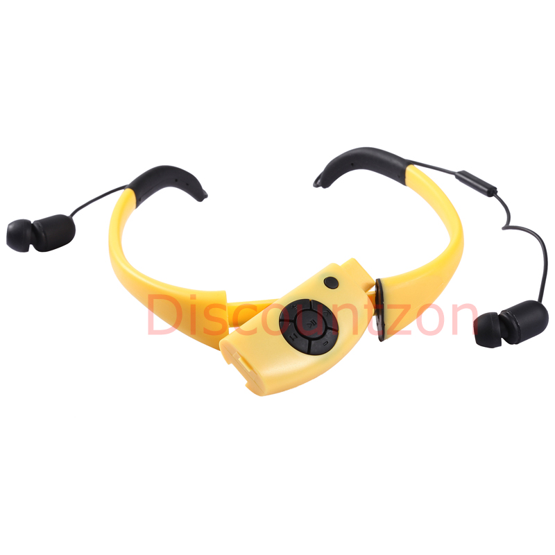 waterproof bluetooth headphone headset for water sport swimming iphone samsung. Black Bedroom Furniture Sets. Home Design Ideas