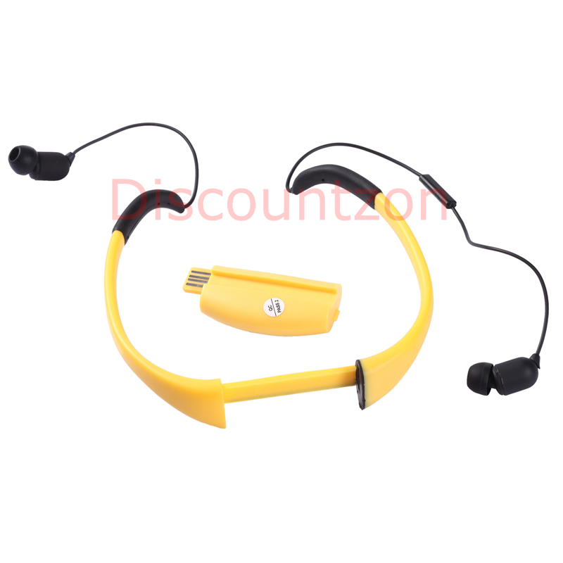ipx8 waterproof bluetooth headset headphone earphone mic for iphone 5 4 swimming ebay. Black Bedroom Furniture Sets. Home Design Ideas