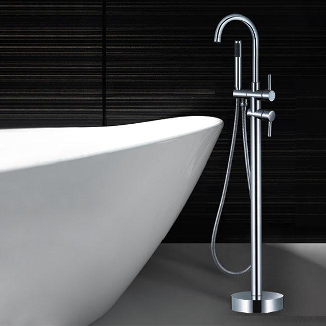 Floor Standing Mounted Freestanding Bath Mixer Tap Spout