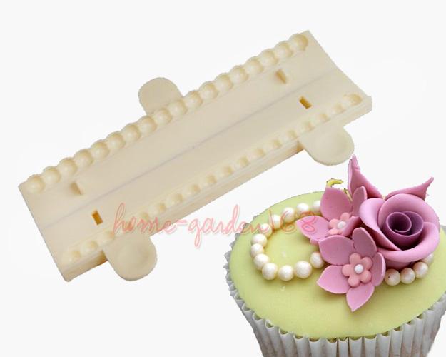 Sugarcraft Fondant Beads Cutter Party Cake Decorating ...
