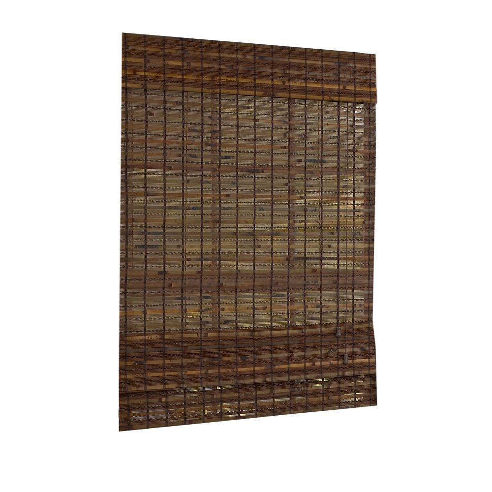 New jakarta cocoa woven window bamboo shade light for 18 inch window blinds