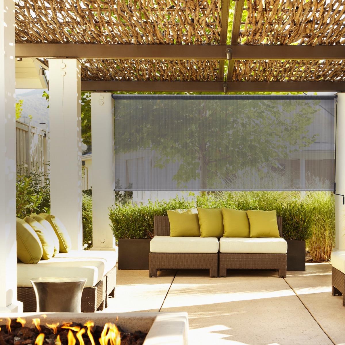 New Radiance Rollup Solar Window Shade Indoor Outdoor Patio Garage Sunroom Blind Ebay