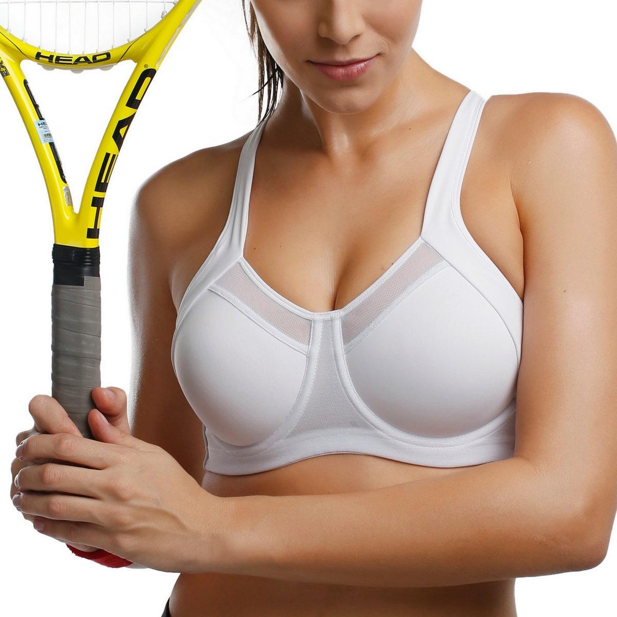 Women-039-s-High-Impact-Workout-Running-Powerback-Support-Underwire-Sports-Bra