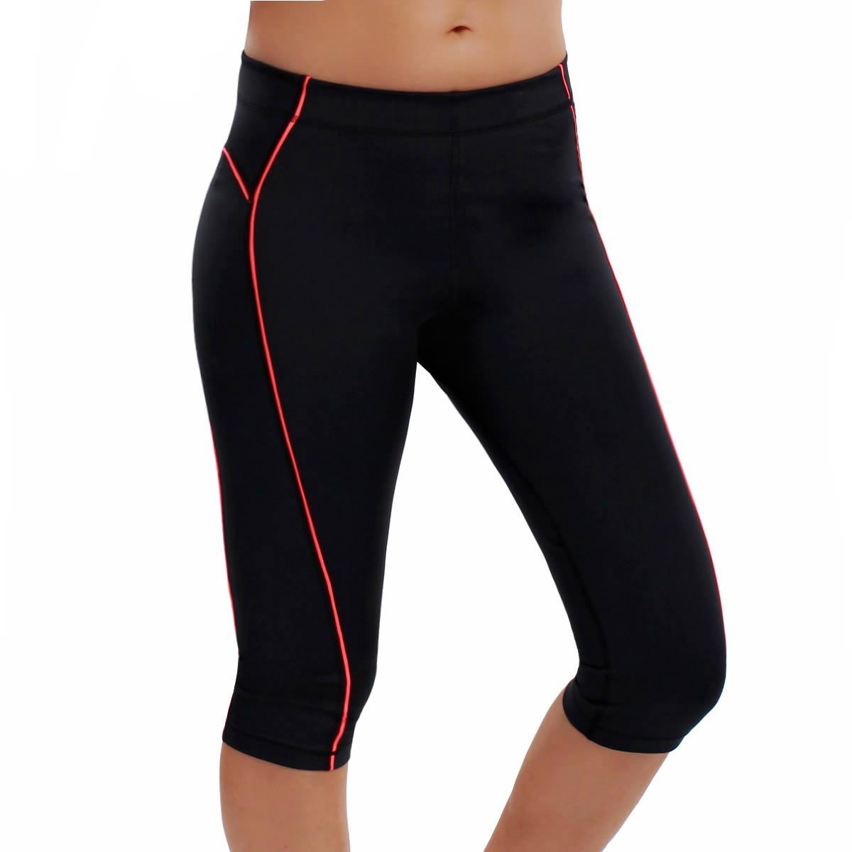 La Isla Women's Fitted Yoga Running Workout Sports Capri