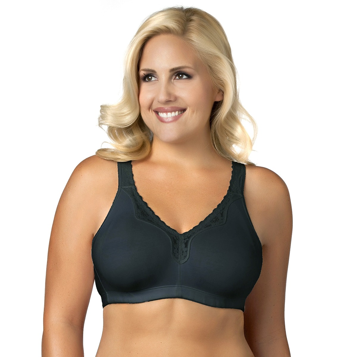 Essential-Comfort-Cotton-Wirefree-Full-Coverage-Bra-14-26-B-C-D-DD-E