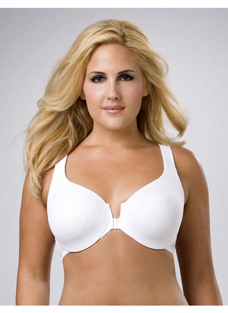Brand-New-Non-Padded-Front-Closure-Bra-Black-White-Beige-10-26-B-C-D-DD-DDD