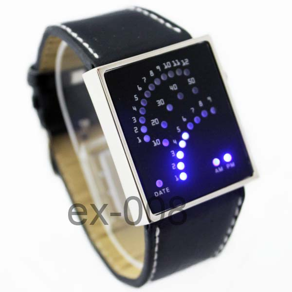 Unique-Digital-Blue-LED-Quartz-Mens-Ladies-Sports-Watch-Gift-New
