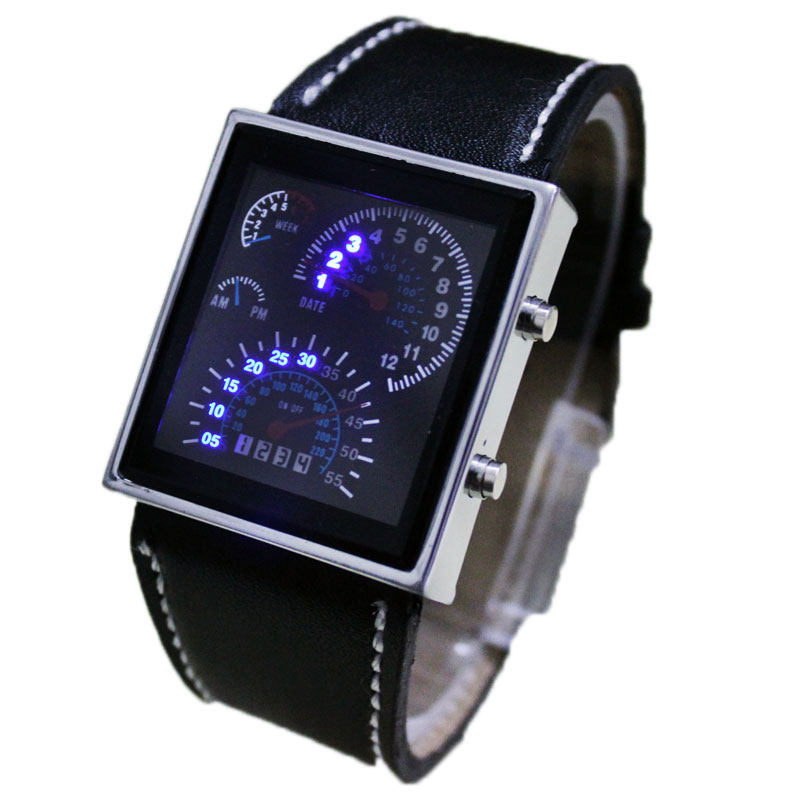 Fashion-Digital-Blue-LED-Mens-Ladies-Sports-Watch-Gift-New