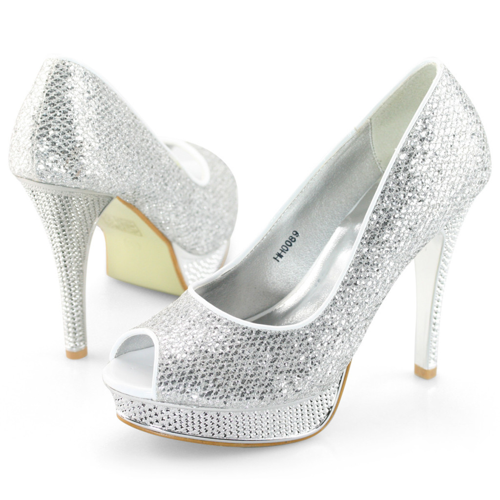 SHOEZY-Womens-Silver-D...