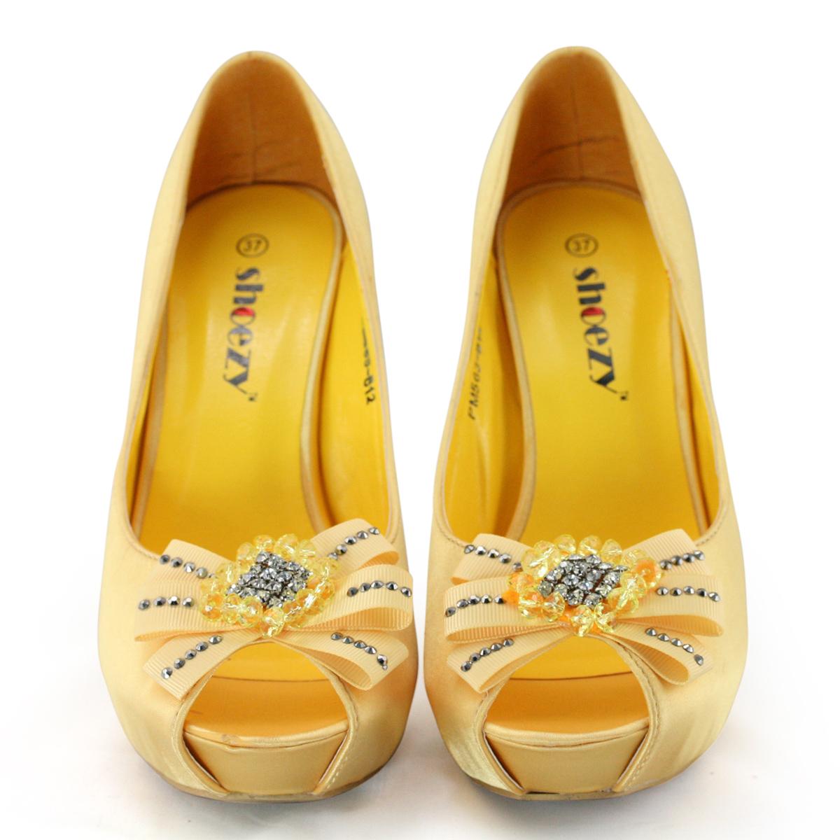 Images of Yellow Wedding Shoes - Weddings Pro