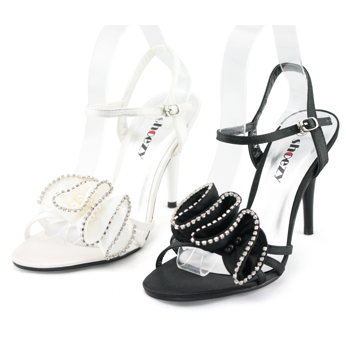 SHOEZY-womens-flower-diamante-formal-wedding-prom-dresses-peep-toes-heels-shoes