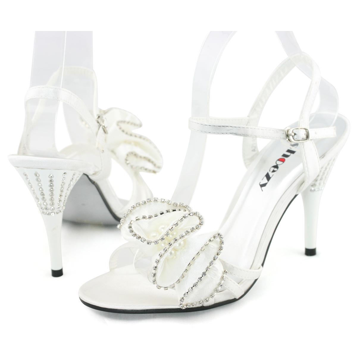 SHOEZY-womens-flower-diamante-formal-wedding-prom-dresses-peep-toes-heels-shoes