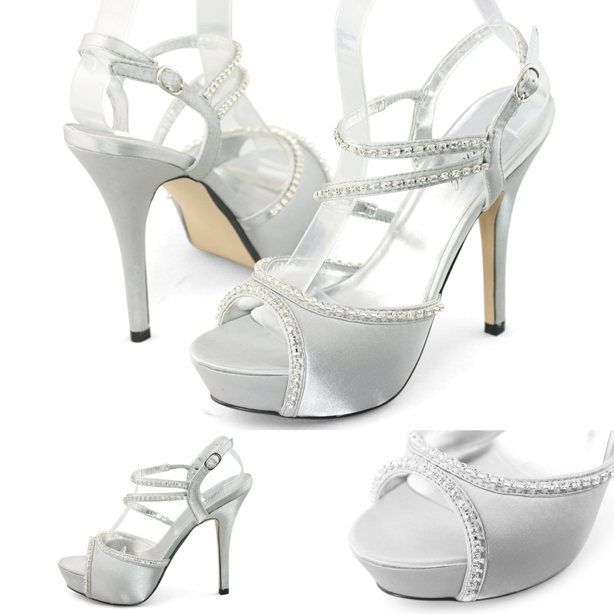 Shoes online for women Womens silver dress shoes