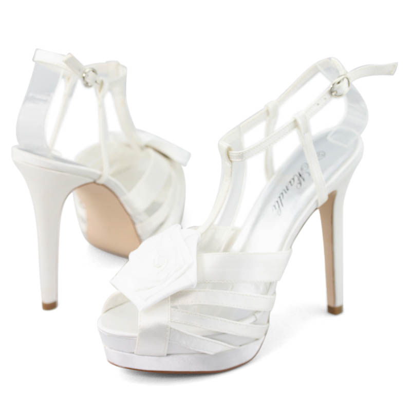 SHOEZY-Womens-White-Satin-Crystal-Platform-Wedding-Prom-High-Heels-Sandals-Shoes