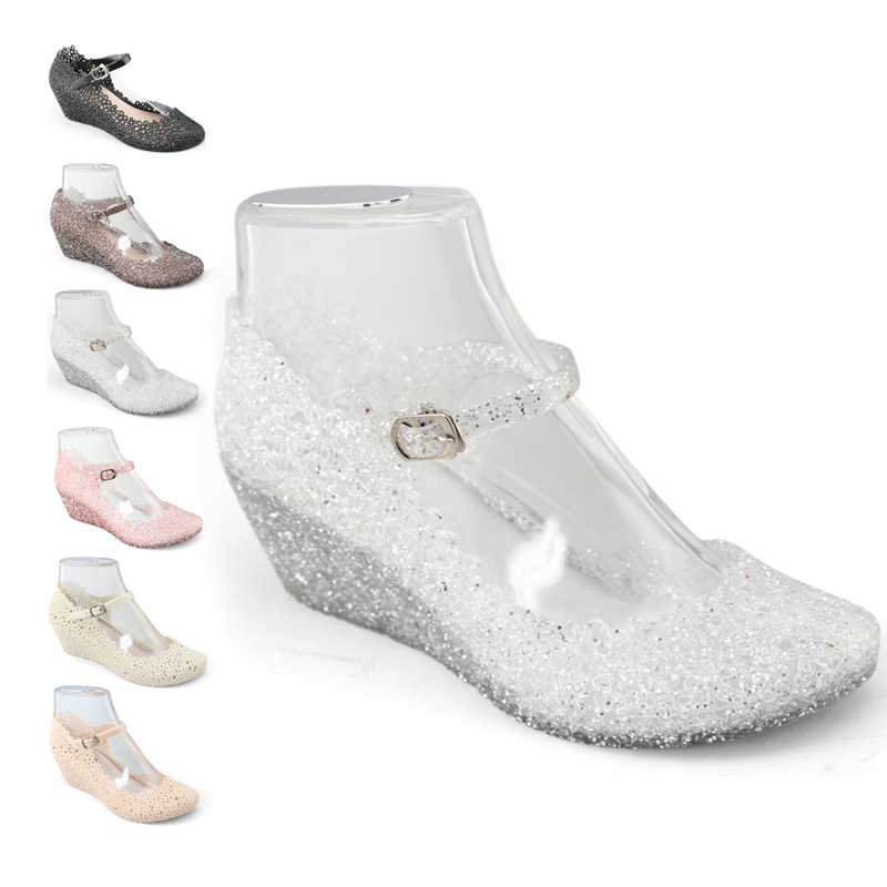 cheap womens platform wedding wedges comfortable jelly