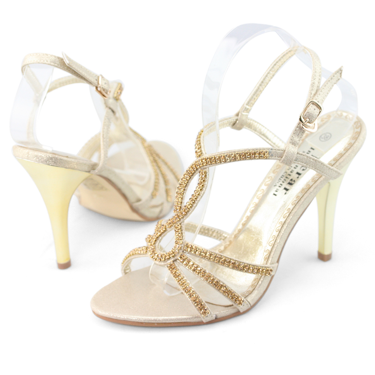 SHOEZY-Womens-Strappy-Crystal-Wedding-Bridesmaid-Evening-Dress-High-Heels-Shoes