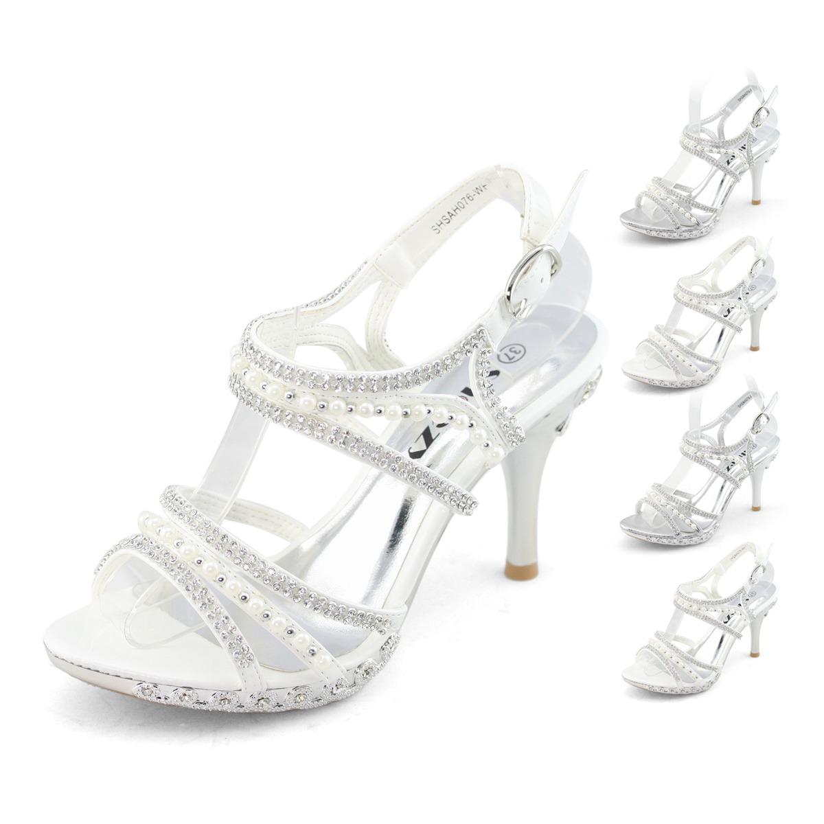 SHOEZY-Gorgeous-womens-pearl-crystals-bridal-dress-comfort-heels-platform-shoes