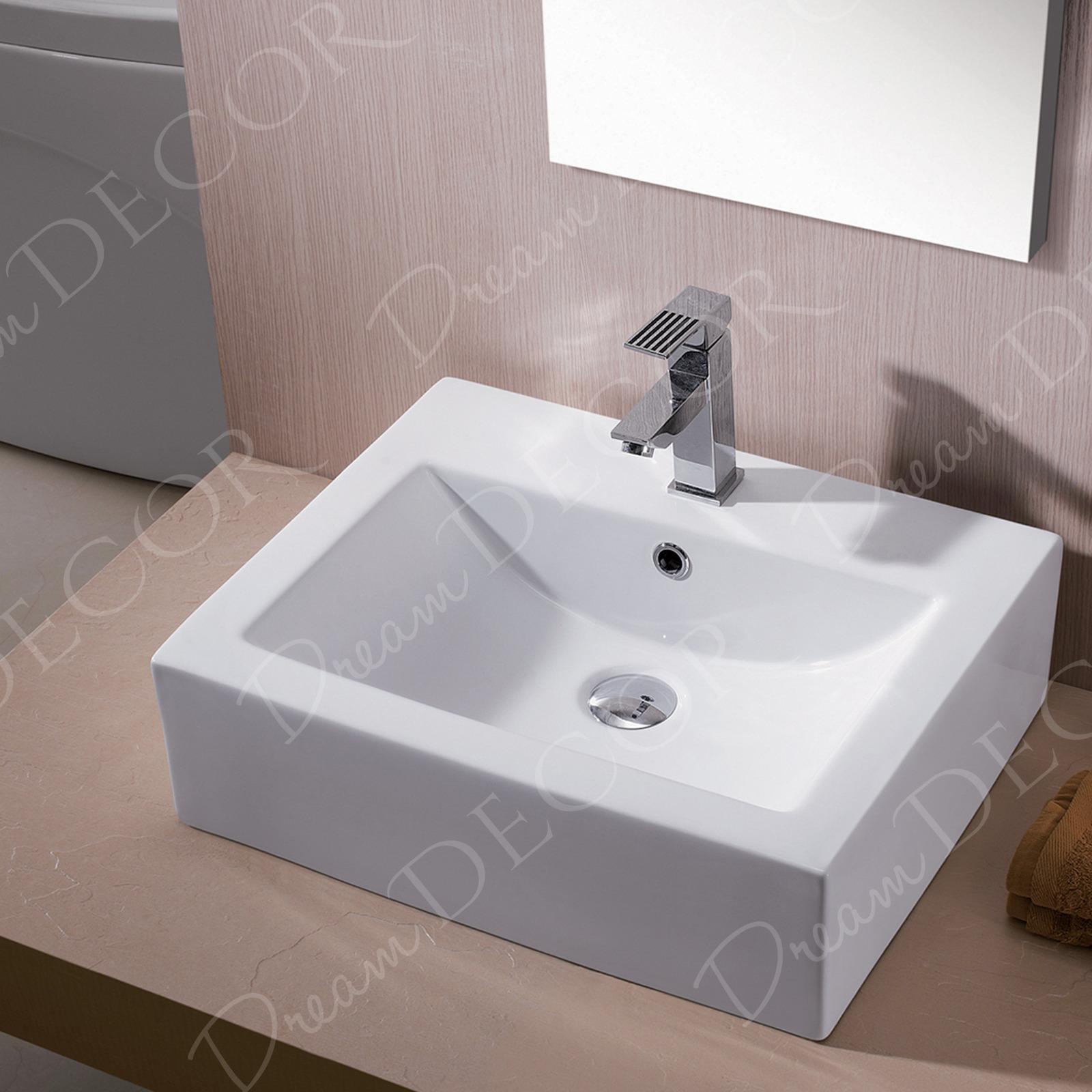 Porcelain Sinks Bathroom Vanities : Bathroom Porcelain Ceramic Vessel Vanity Sink Art Basin New eBay