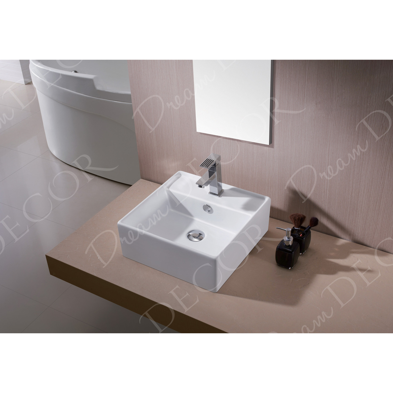 Ceramic Sink Basin Faucet Amp Overflow Hole Bathroom White Www Vidaxl