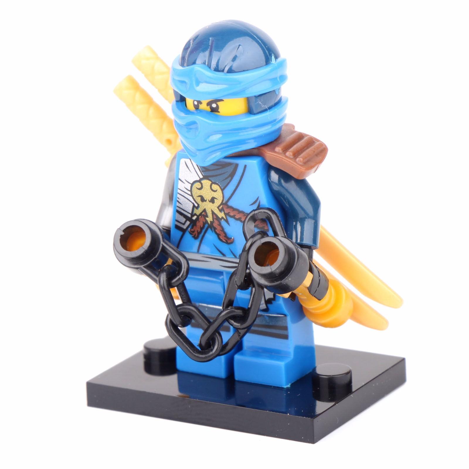 6pcs mini figures ninjago ninja jay cole nya lloyd kai - Ninjago kai jay zane cole lloyd ...