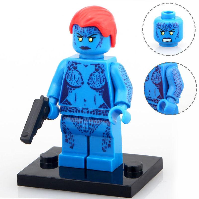 Lego Marvel Toys : Sets minifigures super heroes men apocalypse