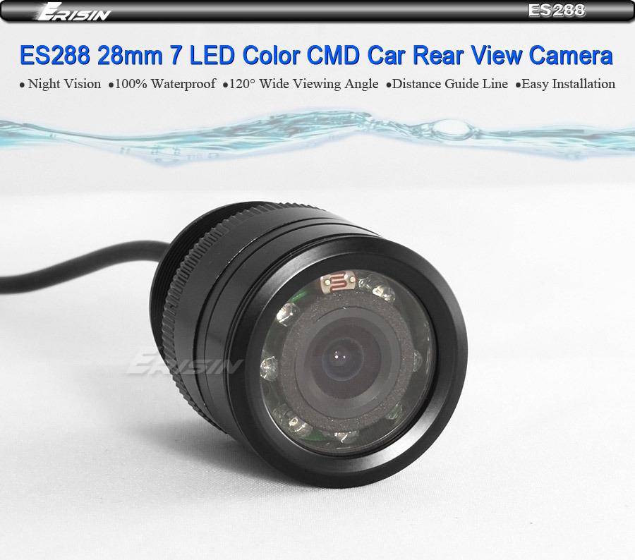 288cu high definition 7 led night vision waterproof color cmd car rear view cam ebay. Black Bedroom Furniture Sets. Home Design Ideas