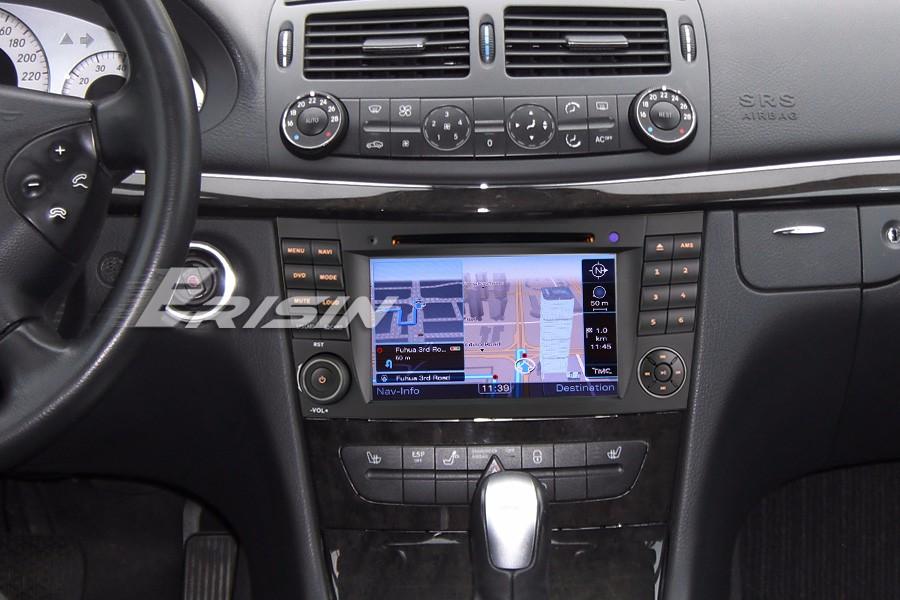 7 car stereo for mercedes benz e cls g class w211 w219 w463 gps 3g dvr 7521 gb ebay. Black Bedroom Furniture Sets. Home Design Ideas