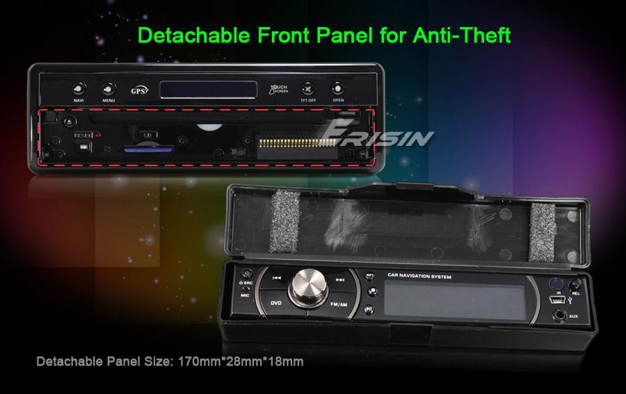 ES842EU 7 1 Din In Dash HD Touch Screen Car DVD Player GPS Sat Nav