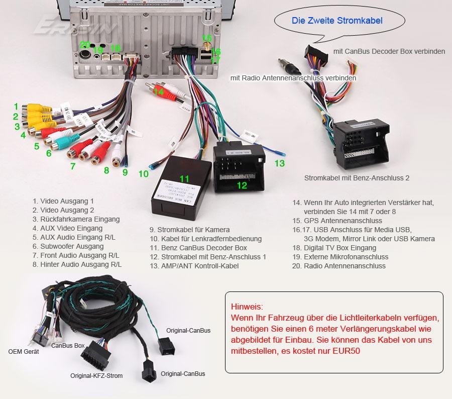 Mercedes Car Wiring Diagram : Ge android car dvd gps autoradio mercedes benz e