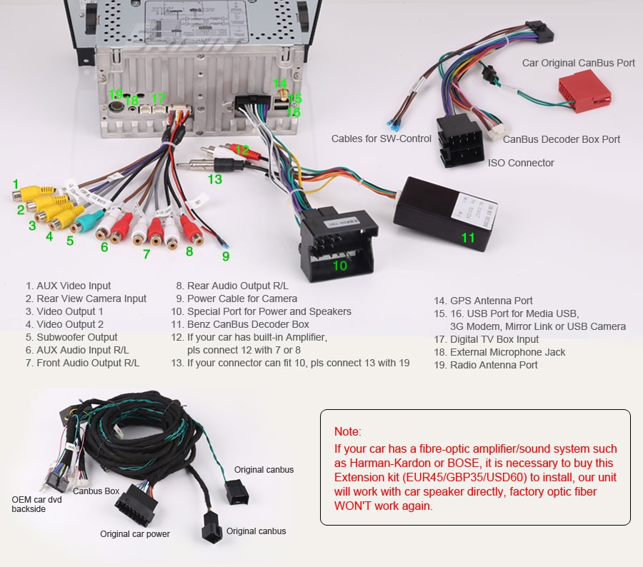 w209 mercedes benz radio wiring diagram