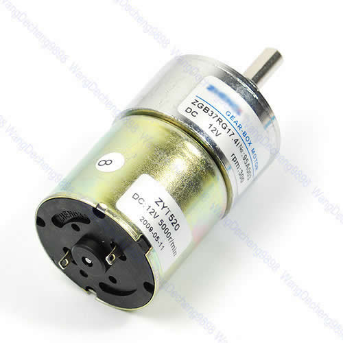 12v dc 300 rpm high torque gear box electric motor hot for High rpm electric motors