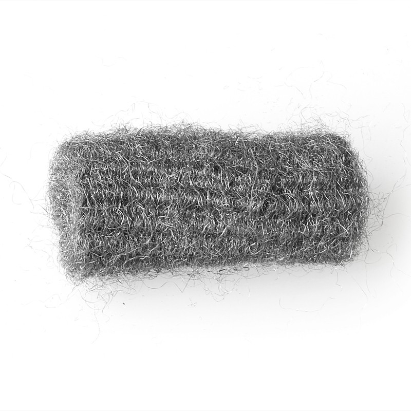 12pcs steel wool pads kitchen wire cleaning ball stainless On steel wool to clean stainless steel