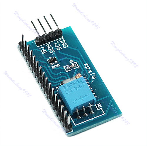 New-LCD-1602-Display-IIC-I2C-TWI-SP-I-Serial-Interface-Board-Module-For-Arduino
