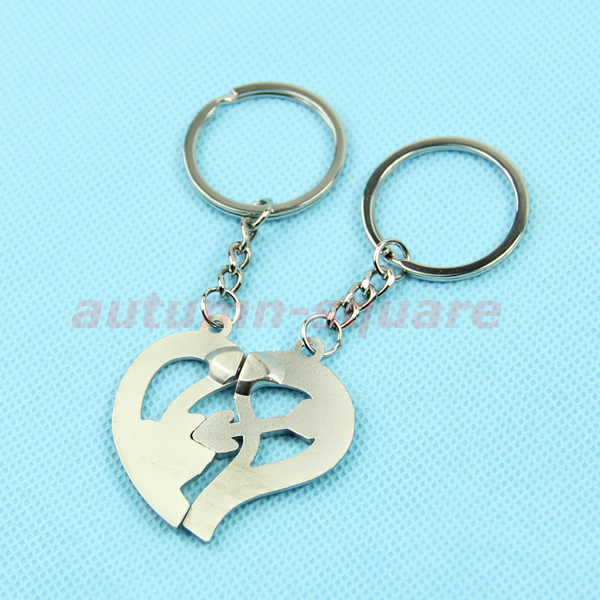 Love Keychain Wallpaper : Love You Pendant Pair couple Lovers Keychain Keyring Key ...