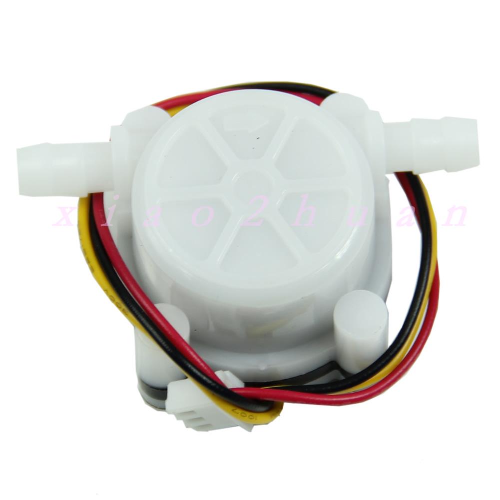 New Water Coffee Flow Sensor Switch Meter Flowmeter Counter 0.3-6L/min eBay