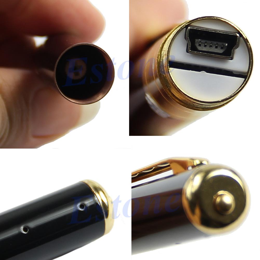 Spy pen hd cam camera video dvr covert hidden discreet recording surveillance ebay - Camera de surveillance discrete ...