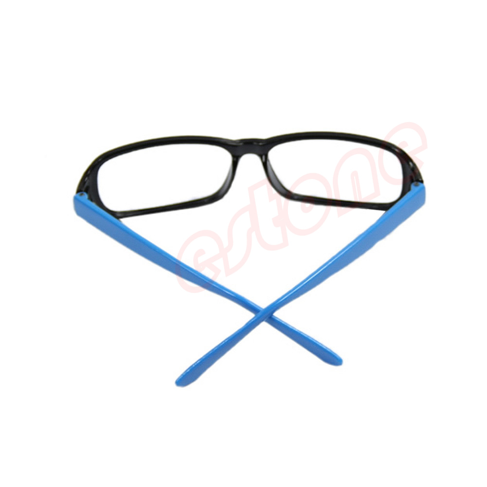 New Unisex Fashion Square Frame Glasses Cool Eyeglasses ...