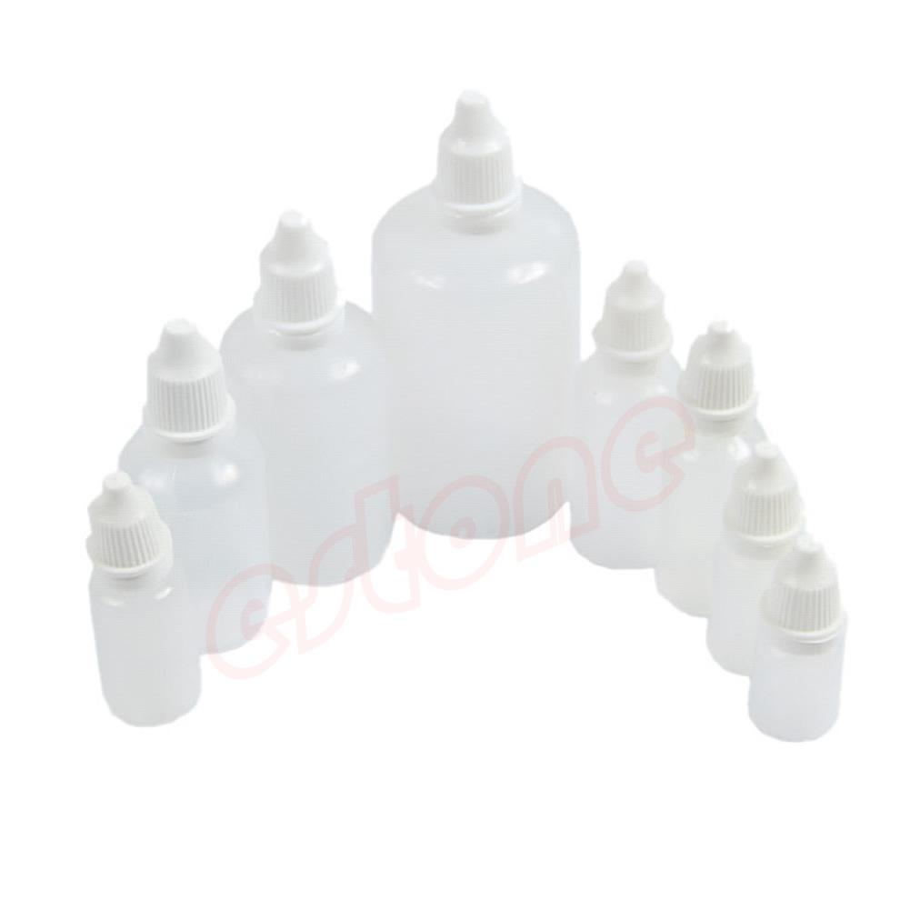 Empty Squeezable Plastic Applicator Dropper Bottles Eye