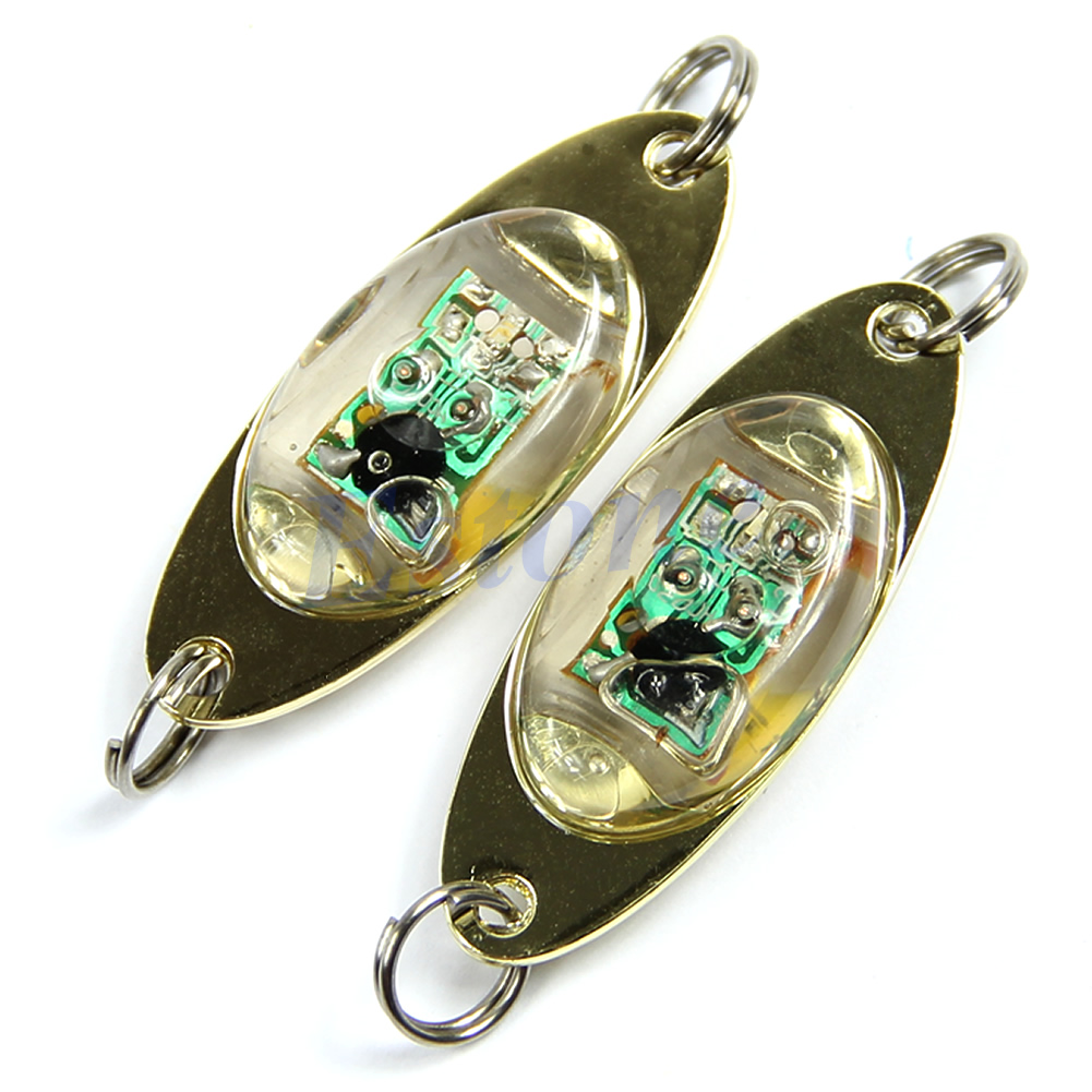 Led deep drop underwater eye shape fish fishing squid lure for Fishing lure with camera