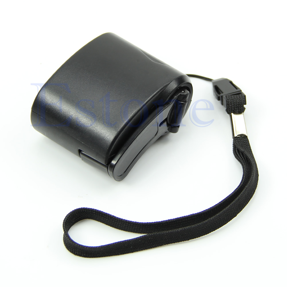 Cell Phone USB Hand Crank Manual Dynamo Emergency Charger