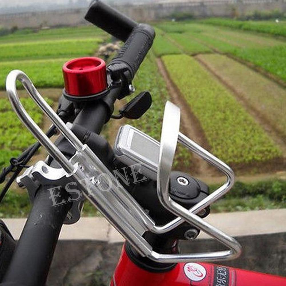 Bike Bicycle Aluminum Alloy Handlebar Water Bottle Holder Cages