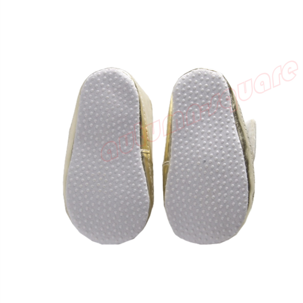 1 Pair Cool Angel Wings Pattern Crib Soft Sole Toddler