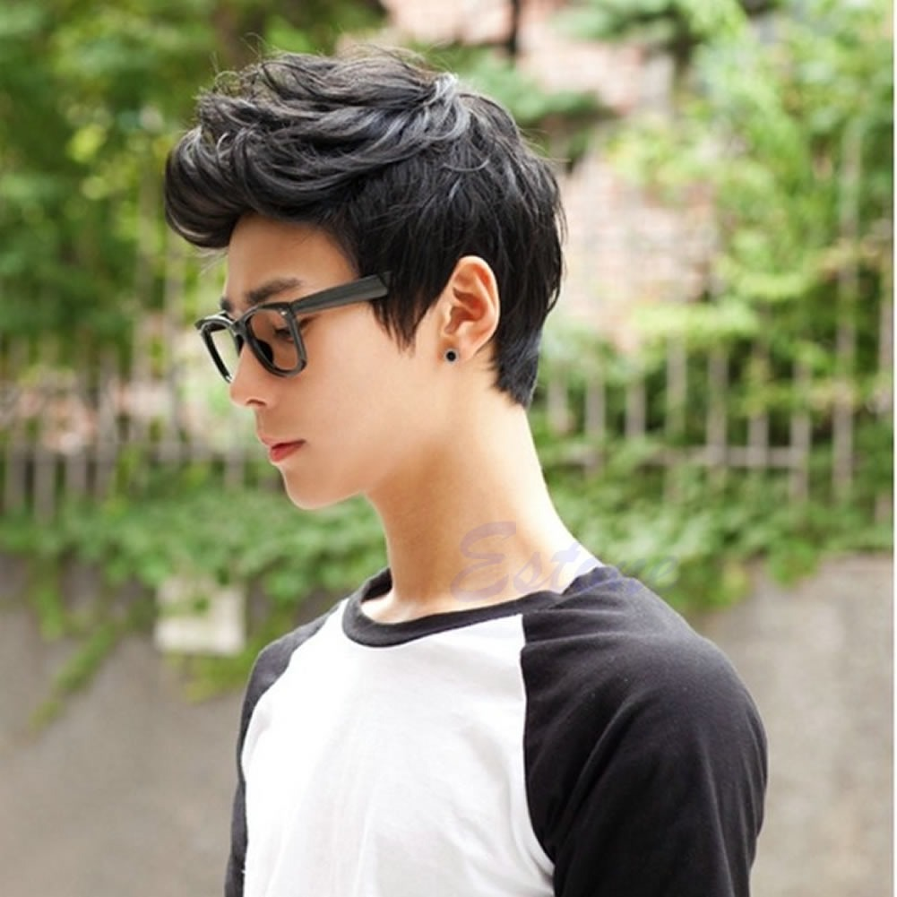 Mens Wig Vogue Sexy Korean Boys Handsome Short Hair