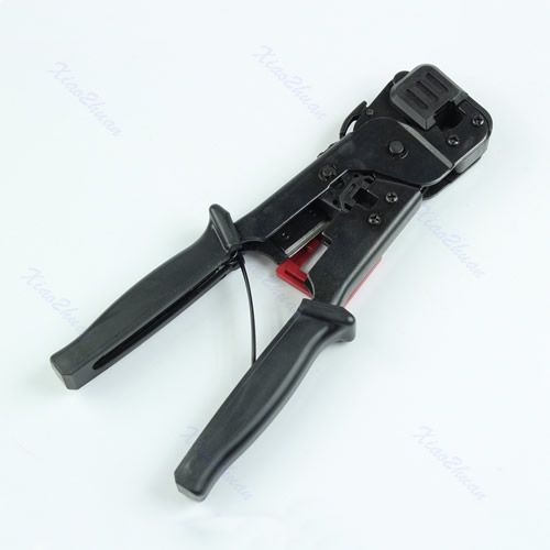multi function rj45 rj11 cable crimper crimp strip cut tool network. Black Bedroom Furniture Sets. Home Design Ideas