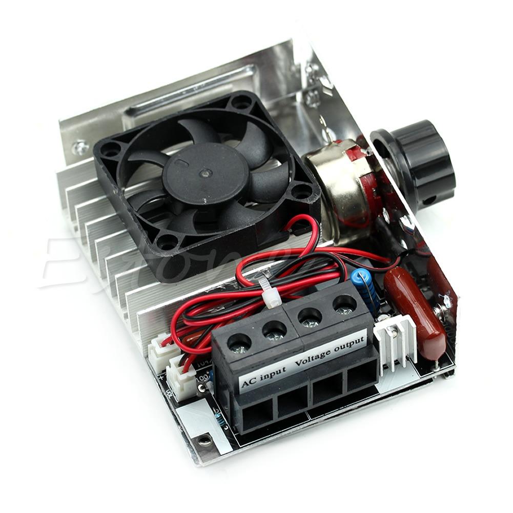 10000w 220v Scr Super Power Regulator Motor Speed