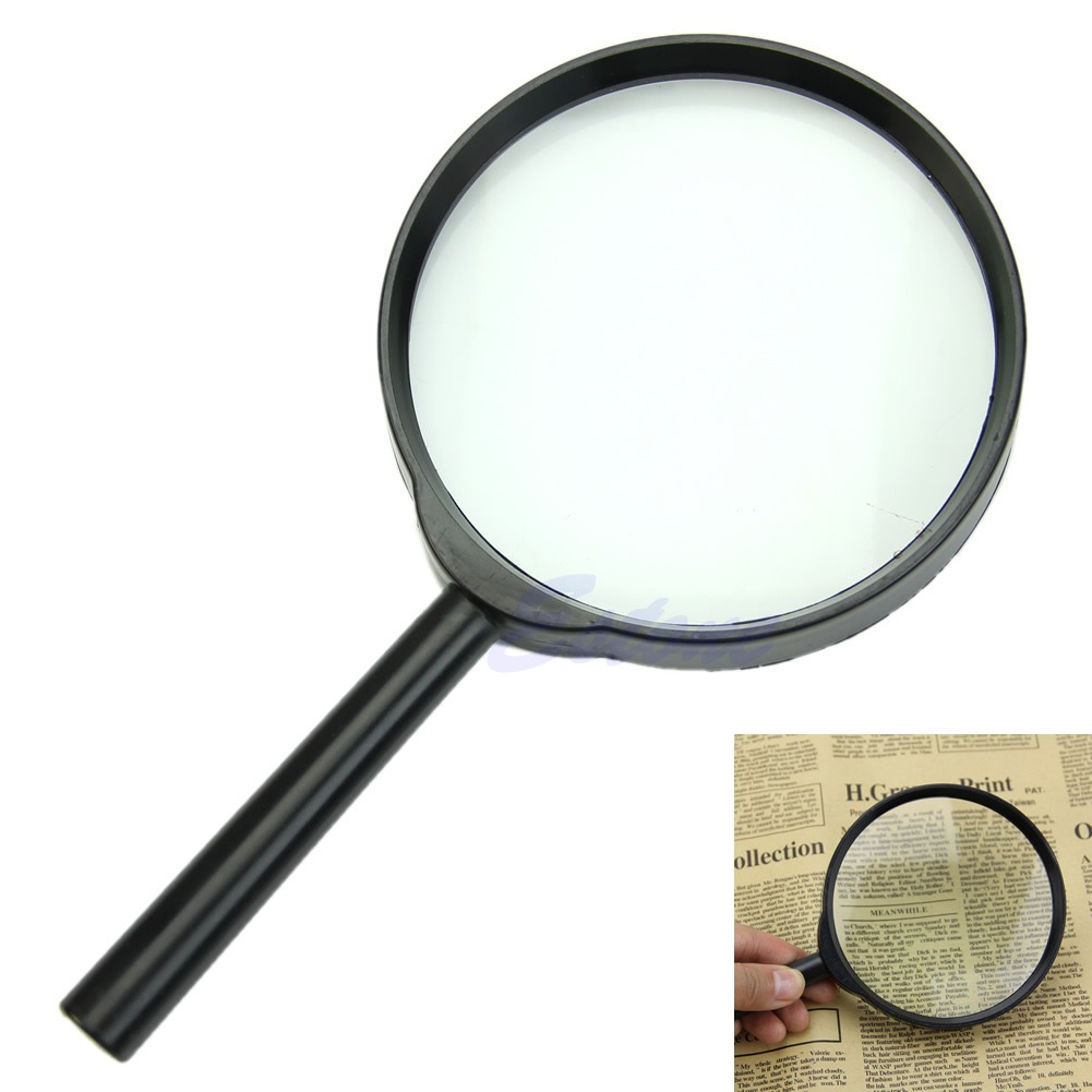 5x 100mm held reading magnifier magnifying glass lens